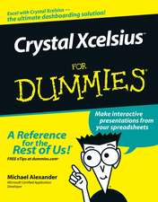 Crystal Xcelsius For Dummies