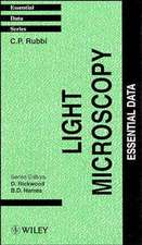 Light Microscopy: Essential Data