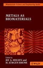 Metals as Biomaterials