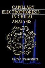 Capillary Electrophoresis in Chiral Analysis
