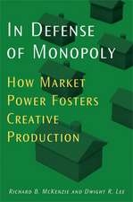 In Defense of Monopoly: How Market Power Fosters Creative Production