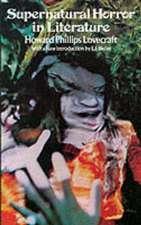 Supernatural Horror in Literature