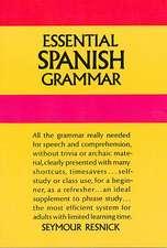 Essential Spanish Grammar:  100 Selected Games