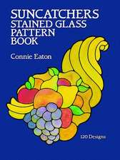 Suncatchers Stained Glass Pattern Book:  634 Cuts from La Vie Parisienne
