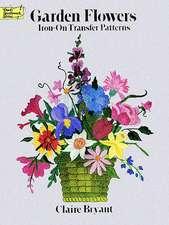 Garden Flowers Iron-On Transfer Patterns