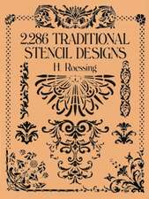 """2,286 Traditional Stencil Designs:  From the Log of the """"Santa Maria"""""""