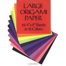 Hârtie de origami mare