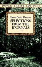 Selections from the Journals