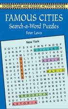 The Famous Cities Search-A-Word Puzzles
