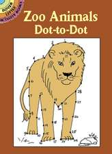 Zoo Animals Dot-To-Dot:  Designs and Techniques