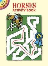 Horses Activity Book