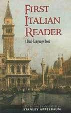First Italian Reader