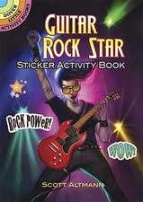 Guitar Rock Star Sticker Activity Book