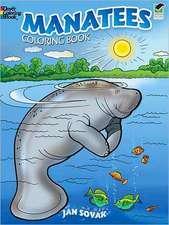 Manatees Coloring Book