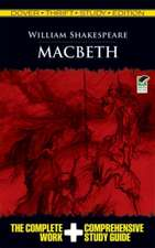 Macbeth Thrift:  The Complete Work & Comprehensive Study Guide