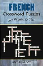 French Crossword Puzzles for Practice and Fun
