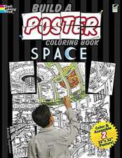 Build a Poster Coloring Book Space