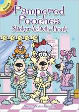 Pampered Pooches Sticker Activity Book