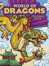 World of Dragons Coloring Book