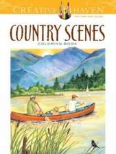 Country Scenes Coloring Book:  Write Your Own Crazy Comics #1
