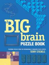 The Big Brain Puzzle Book:  140 Puzzles to Test Your Skills