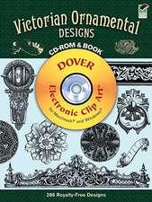 Victorian Ornamental Designs [With CDROM]
