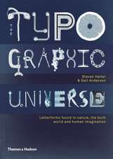 Typographic Universe:  A Global Survey of Typographic Installations