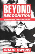 Beyond Recognition – Representation, Power & Culture (Paper)