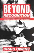 Beyond Recognition – Representation, Power & Culture (Paper)