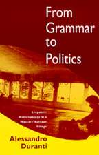 From Grammar to Politics – Linguistic Anthropology  in a Western Samoan Village (Paper)