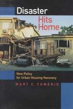 Disaster Hits Homes – New Policy for Urban Housing Recovery