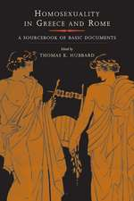 Homosexuality in Greece & Rome – A Sourcebook of Basic Documents