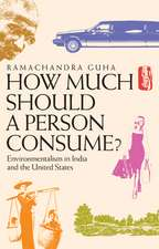 How Much Should a Person Consume? – Environmentalism in India and the United States