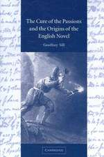 The Cure of the Passions and the Origins of the English Novel