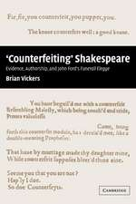 'Counterfeiting' Shakespeare: Evidence, Authorship and John Ford's Funerall Elegye