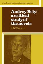 Audrey Bely: A Critical Study of the Novels