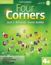 Four Corners Level 4 Full Contact B with Self-study CD-ROM