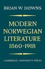 Modern Norwegian Literature 1860–1918