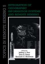 Integration of Geographic Information Systems and Remote Sensing