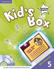 Kid's Box American English Level 5 Workbook with CD-ROM
