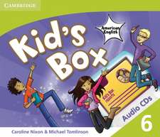 Kid's Box American English Level 6 Audio CDs (3)