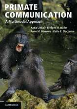 Primate Communication: A Multimodal Approach