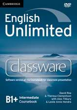 English Unlimited Intermediate Classware DVD-ROM