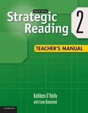 Strategic Reading Level 2 Teacher's Manual