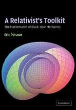 A Relativist's Toolkit: The Mathematics of Black-Hole Mechanics