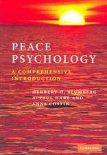 Peace Psychology: A Comprehensive Introduction