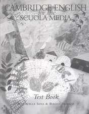 Cambridge English for the Scuola Media Test book Italian edition