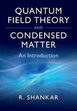 Quantum Field Theory and Condensed Matter  : An Introduction