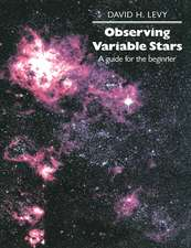 Observing Variable Stars: A Guide for the Beginner