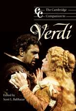 The Cambridge Companion to Verdi